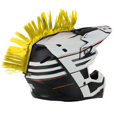 Helmet Mohawk Yellow PC Racing MX ATV Enduro Dirtbike Motocross Trail