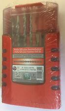 Heller SDS+ Plus Prefix 7 piece Hammer Drill Bit Set 5mm - 12mm German Tools
