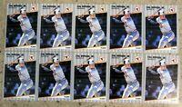 1989 Fleer #617 - Cal Ripken - Baltimore Orioles HOF - 10ct Card Lot