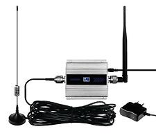 GSM 900Mhz LCD Cell phone Signal Booster Cellular Repeater Amplifier Antenna