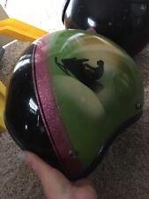 Vintage Artic Cat 70's Metal Flake Snowmobile Helmet Large