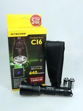 Nitecore LED Taschenlampe C16  440 Lumen  Chameleon Serie  Outdoor Jagd Polizei