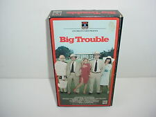 Big Trouble VHS Video Tape Movie Peter Faulk Alan Arkin Beverly D'Angelo