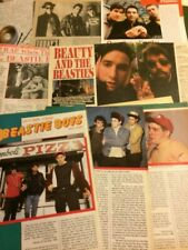 The Beastie Boys, Lot of Five Full Through Five Page Vintage Clippings