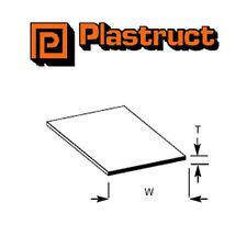 Plastruct sts-2 Confezione di 5 plasticstrips per la modellizzazione 0,5 x 31.8 x 600mm