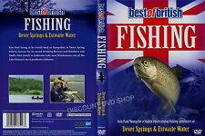 FISHING-DEVER SPRINGS & ESTWAITE WATER. NEW DVD