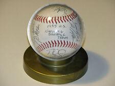 1995 U.S. National Baseball Team Autographed Baseball