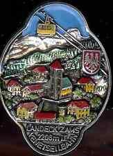 Landeck Sams Venetseilbahn hiking medallion stocknagel badge Shield G0894