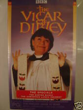 THE VICAR OF DIBLEY~ VHS VIDEO ~ THE EASTER BUNNY +THE CHRISTMAS LUNCH INCIDENT