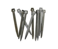 Zeltbahn Metal Peg - WW2 Army Military Shelter Tent Stakes Issued Camping Basha