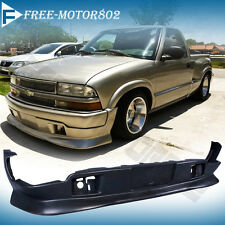 Fits 98-04 CHEVY S10 GMC EXTREME STYLE PU FRONT BUMPER LIP SPOILER BODY KIT