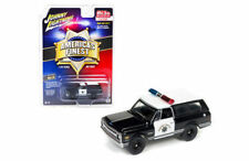 JOHNNY LIGHTNING 1:64 1969 CHEVROLET BLAZER DIE-CAST BLACK/WHITE JLCP7027-24