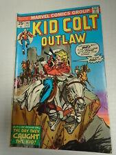 Marvel Comics KID COLT OUTLAW #197 (1975) Gil Kane Cover, Jack Kirby Art