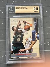 2003 Sports Illustrated SI LeBron James RC Rookie BGS 9.5 GEM RARE LOW POP 1