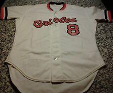 Rawlings 1985 Baltimore Orioles Cal Ripken Jr. Game Worn Jersey Set 2 +2 Length