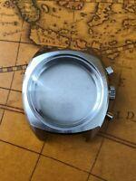 Retro Chronograph Uhrengehäuse für ETA Valjoux 7733 SWISS MADE Uhrwerk