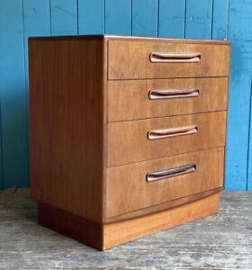Mid Century G Plan Fresco teak chest of 4 drawers Retro DELIVERY* 🚚