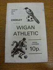 18/04/1977 Lancashire Junior Cup Final: Chorley V Wigan Athletic (leggera piega