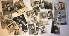 Lot of Vintage 1930's - 1950's Snapshot & Other Photos! Kids, Wedding, Couples!