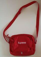SS19 Supreme red shoulder bag Cordura fabric