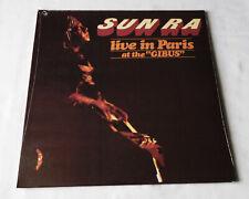 SUN RA Live in Paris at the Gibus EUROPE g/f LP UNIVERSE UV 079 (RE-2003) SEALED