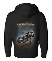 Airbrush Speedway Hoody Speedway Rider Tai Woffinden GP Motorcycle Racing