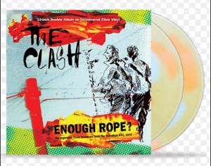 "The Clash ""Enough Rope"" 2x10"" Ltd Tri Colour Ltd Edt Vinyl - New / Sealed"