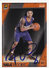 TYLER ULIS PHOENIX SUNS SIGNED HOOPS ROOKIE BASKETBALL CARD KENTUCKY WILDCATS