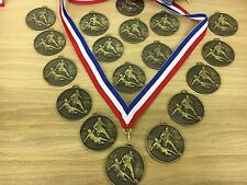 Pack of 18 Football Medals on Ribbons , enough for the whole team