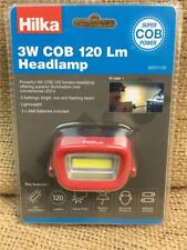 CLEARANCE LINE T113 HILKA  3W COB 120 Lumens Head Torch Lamp with Batteries