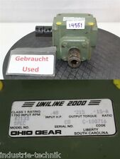 Unline 2000 Ohio Gear b2133 Gert contabili motore a ingranaggi gearbox