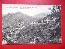 $ CARTOLINA 1938 CUTIGLIANO E VAL DI LIMA  PANORAMA STAZIONE CLIMATICA PISTOIA
