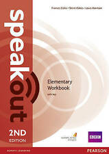 Speakout Elementary 2nd Edition Workbook with Key by Louis Harrison...