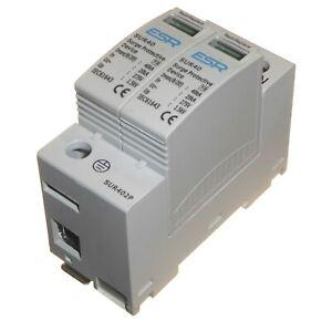 Type 2 Surge Protective Device SPD 40kA DP Consumer Unit Din Rail Retrofit 275V