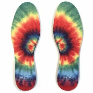 Relax Memory Foam Insoles, Mr. Lacy Shoe Care - Tie Dye High Quality