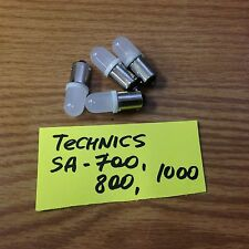Technics  SA-700, SA-800, SA-1000 receiver front panel LED lamps (blue or white)