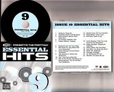 DMC-Essential Hits, Chart & Promo Mix DJ CD -Vol. 9 (Mariah Carey/U2/Madonna)