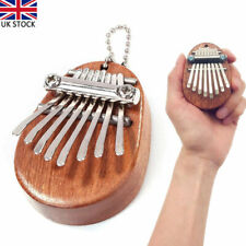 More details for mini kalimba 8keys thumb piano great sound finger keyboard musical instrument uk