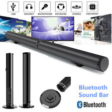 Surround Speakers Sound Bar System Wireless Bluetooth Stereo Soundbar Antinoise