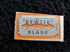 Vintage Kewtie Razor Blades - Circa 1930