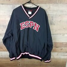 Vintage  ESPN Zone Pullover Windbreaker Jacket Mens XL