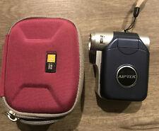 AIPEK DIGITAL Video Camera Camcorder MP3 Player DZO-V50 W/case. Blue