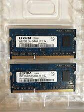 Elpida 2 x 2 GB 1rx8 Pc3 13800s-11-10-b2 di memoria RAM MacBook Apple 2012
