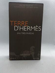 Terre D Hermès Eau Tres Fraiche By Hermès 4.2 Oz Eau De Toilette New In Box