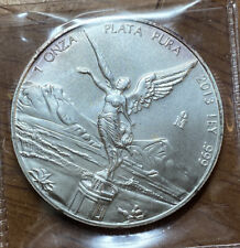 2013 MEXICO Libertad 1 Onza  1 Troy Oz .999 SILVER COIN