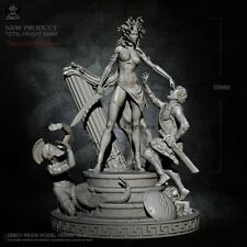 1:35 The Curse of Medusa, Resin Model Kit - 3 Figures, 50mm
