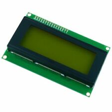 Yellow Green 20x4 LCD Display Module 2004A Arduino Raspberry Pi