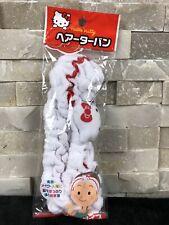 Hello Kitty Sanrio Japan Made Hair Accessories Makeup Washable Headband