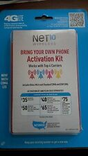 Net10 Bring Your Own Phone Activation Kit (Verizon, T-Mobile, AT&T, Sprint)
