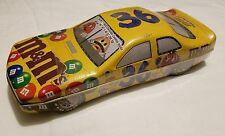 M&M's Collector Tin Car #36 - NASCAR - Sealed Advertisement Tin
